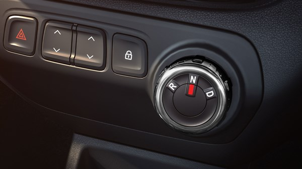 Dash-mounted AMT dial