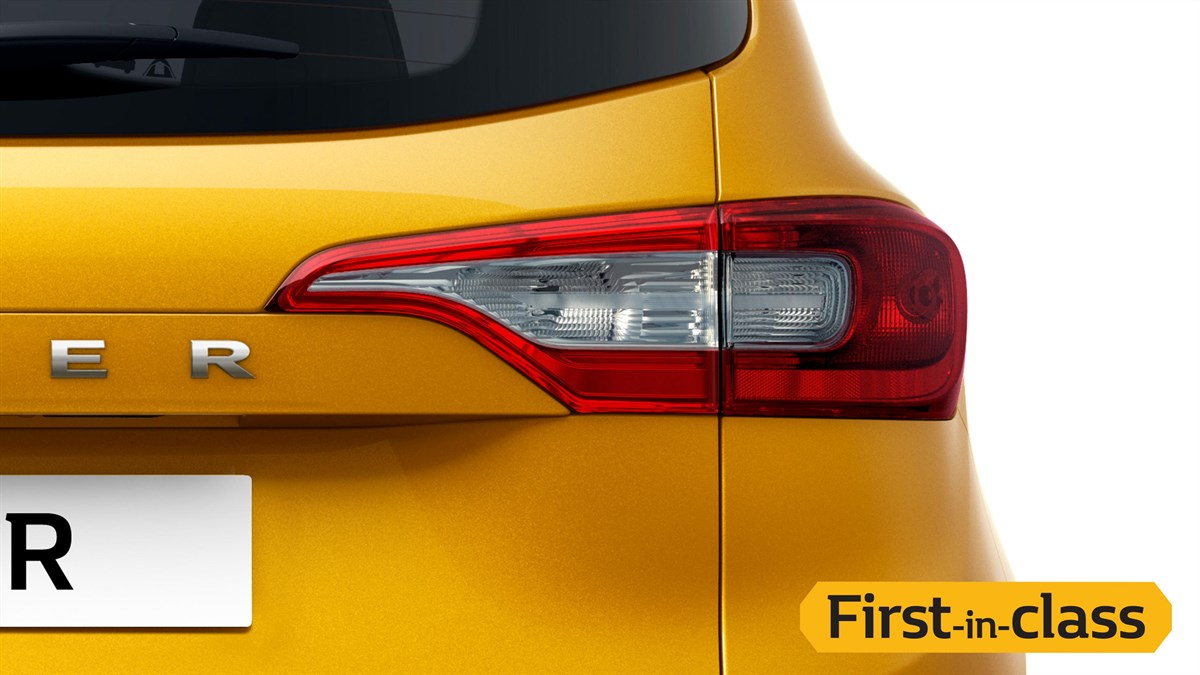 First-in-class Eagle Beak Split Tail Lamps